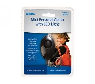 Sabre Personal Alarm with LED